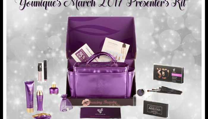 Younique's March 2017 Presenter's Kit