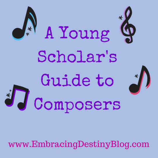 A Young Scholar's Guide to Composers ~ review of Bright Ideas Press study