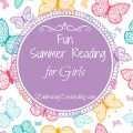 fun summer reading list for girls @destinyblogger
