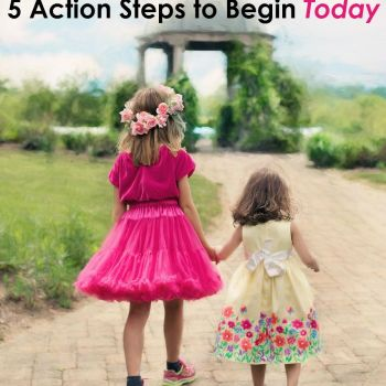 5 Action Steps to Begin Discipling our Daughters Today