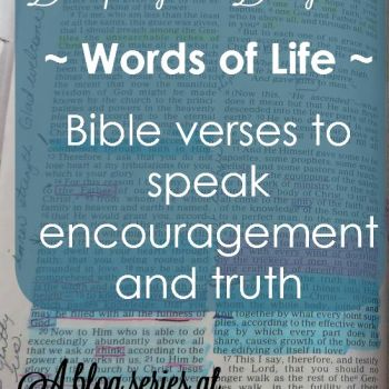 Discipling our Daughters: Words of Life