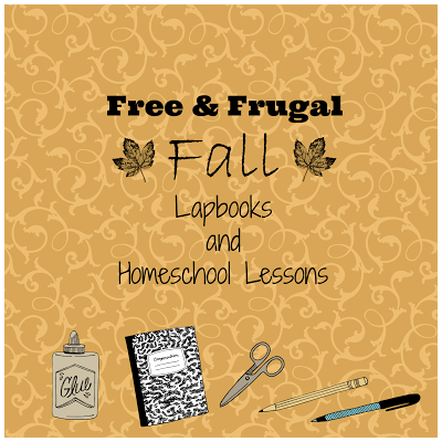 Free & Frugal Fall Lapbooks and Homeschool Lessons