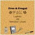 free frugal fall autumn homeschool lessons lapbooks