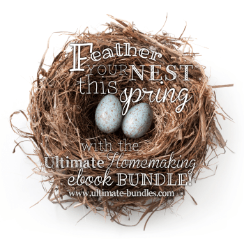 Last day to get The Ultimate Homemaking Bundle!