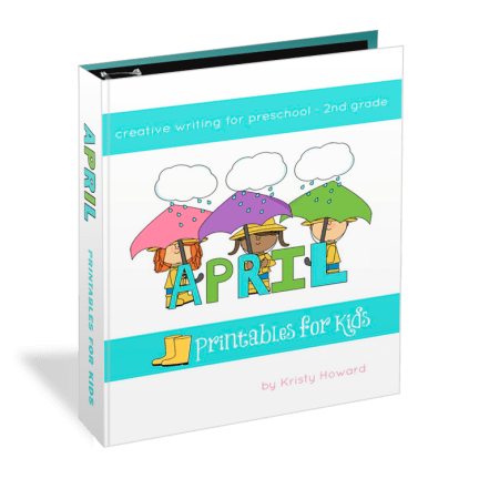 April Printables for Kids #homeschool
