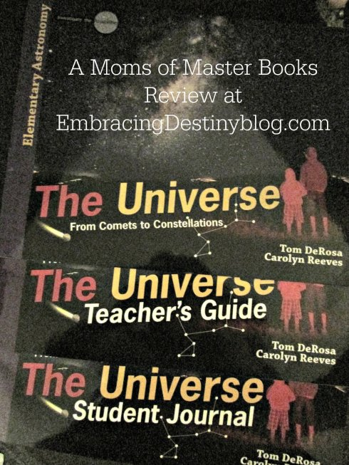 Moms of Master Books Elementary Science Curriculum: The Universe #hsreviews