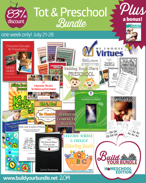 Build Your Bundle - Homeschool Edition Sale - Up to 92% Off!