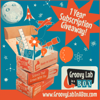 Groovy Lab in a Box 1 Year Subscription Giveaway