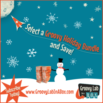 Christmas + STEM Learning Fun = Groovy Lab in a Box