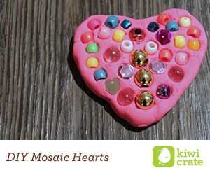 DIY Mosaic Heart