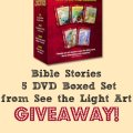 See the Light Art Lessons 5 DVD set giveaway, ends 3-2