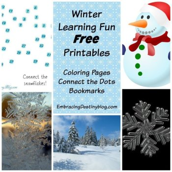 Free Winter Printables for Snowy Days