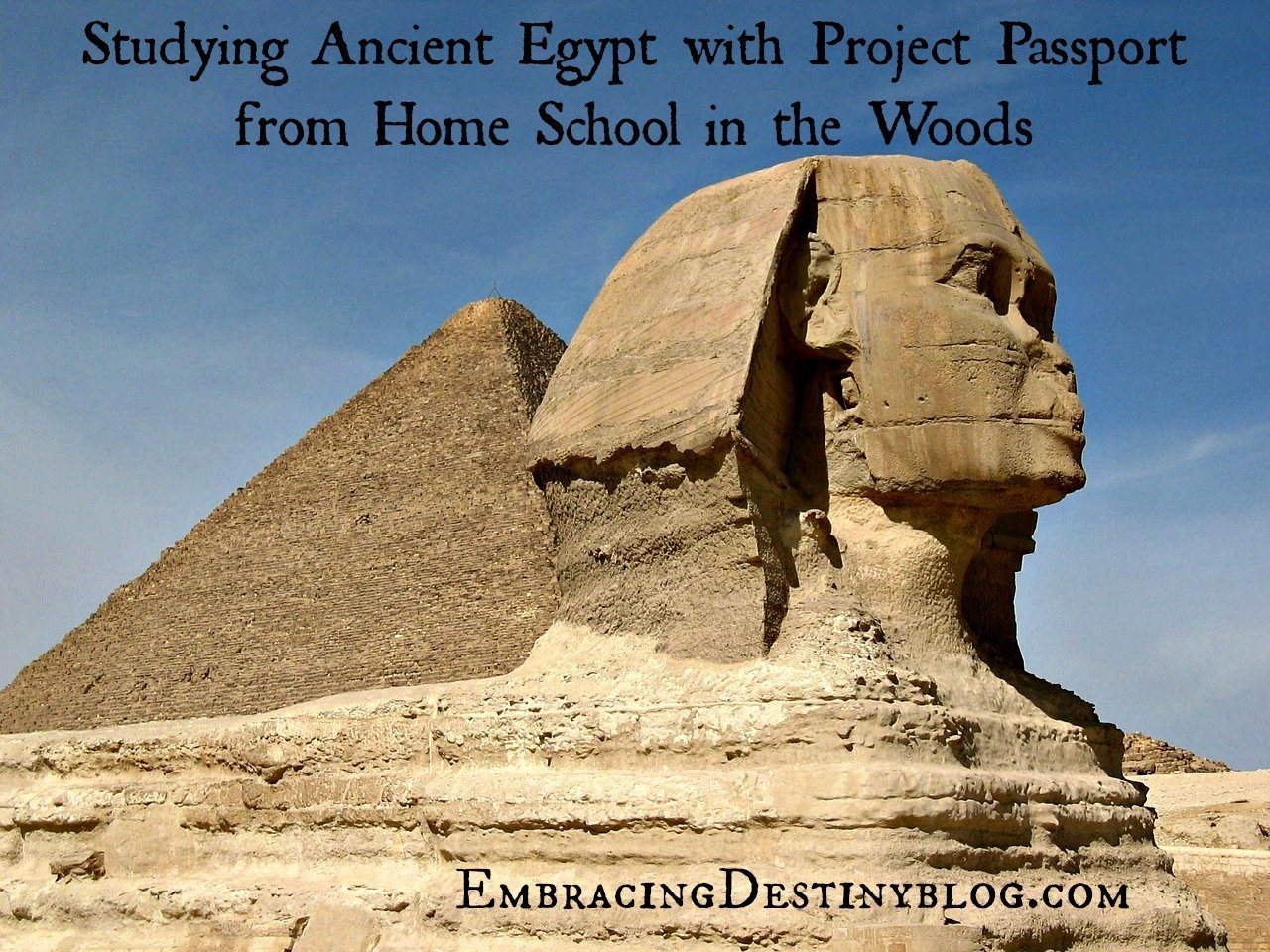 Studying Ancient Egypt History With Home School In The