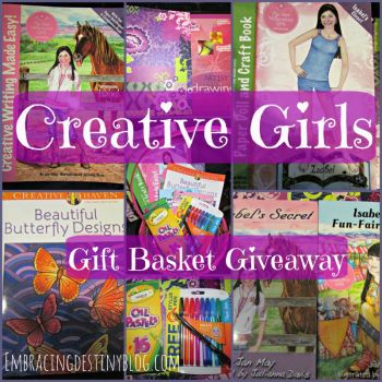 Creative Girls Gift Basket Giveaway {closed}