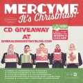MercyMe It's Christmas! CD giveaway, ends 11-25-15