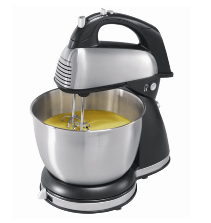 Hamilton Beach 6-Speed Classic Stand Mixer Stainless Steel