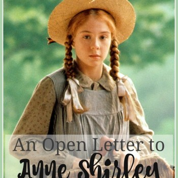 A Letter to Anne Shirley