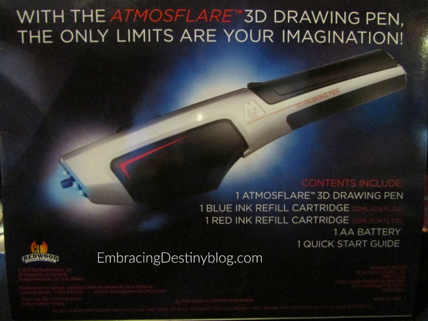 AtmosFlare 3D Drawing Pen