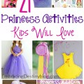 20+ princess activities to keep your girls happy and having creative fun! embracingdestinyblog.com