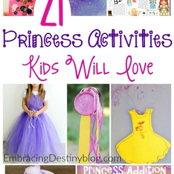 21 Princess Activities Girls Will Love