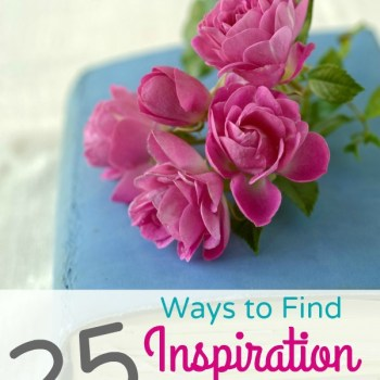 25 Ways to Find Inspiration in Everyday Life