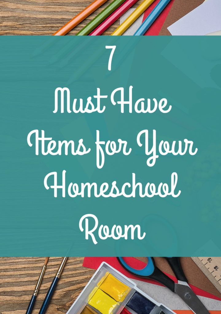 The 7 essential items every homeschool needs. Do you have these? embracingdestinyblog.com