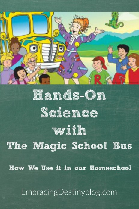 Have some fun with hands-on science and the Magic School Bus in your homeschool. Read all about it here!