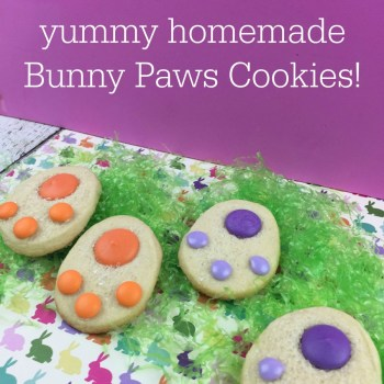 Homemade Bunny Paws Cookies