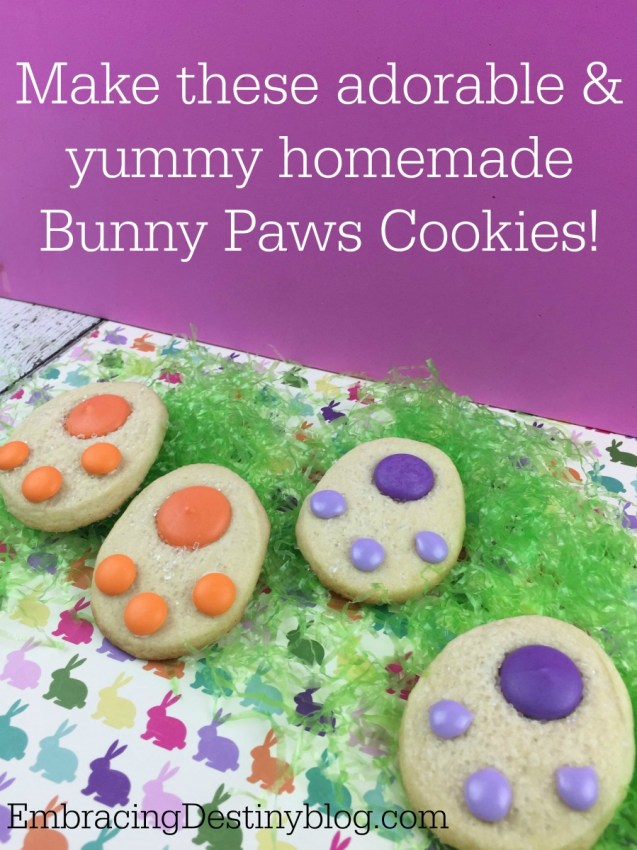 Homemade Bunny Paws Cookies for Easter | easy recipe | step by step | yummy & cute Easter cookies