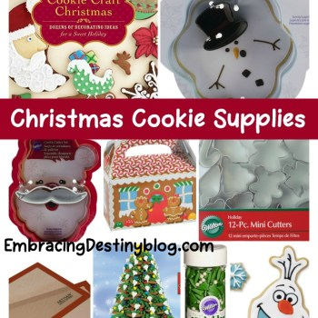 Unique and Fun Christmas Cookie Supplies