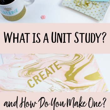 What is a Unit Study and How Do You Make One?