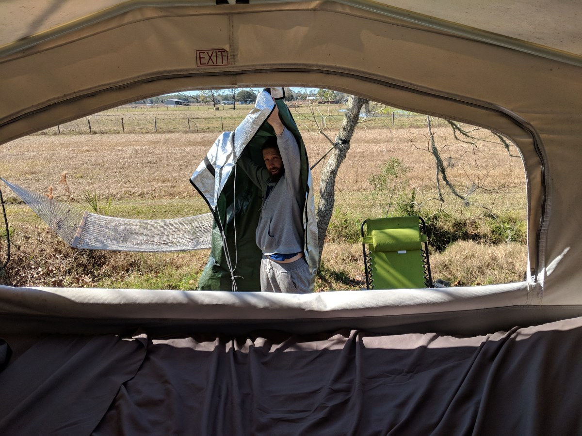 The Pop Up Gizmo and why to buy one for your Camper