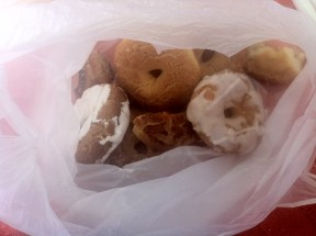 A variety of rosquillas