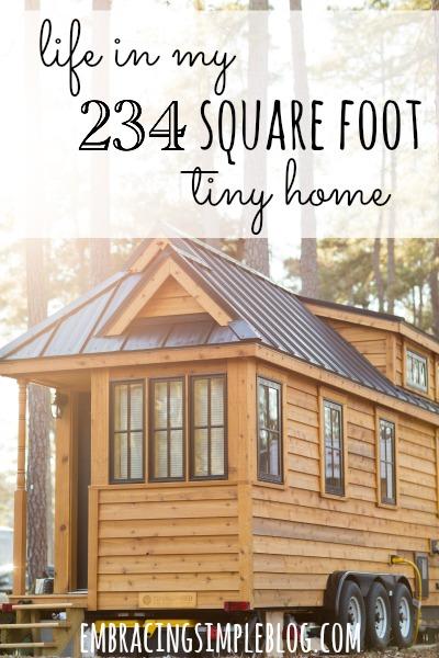 tiny home living smart money simple life