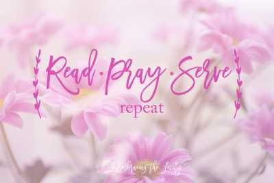 Read Pray Serve Repeat