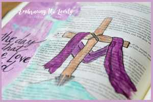 The Day that True Love Died Bible Journaling