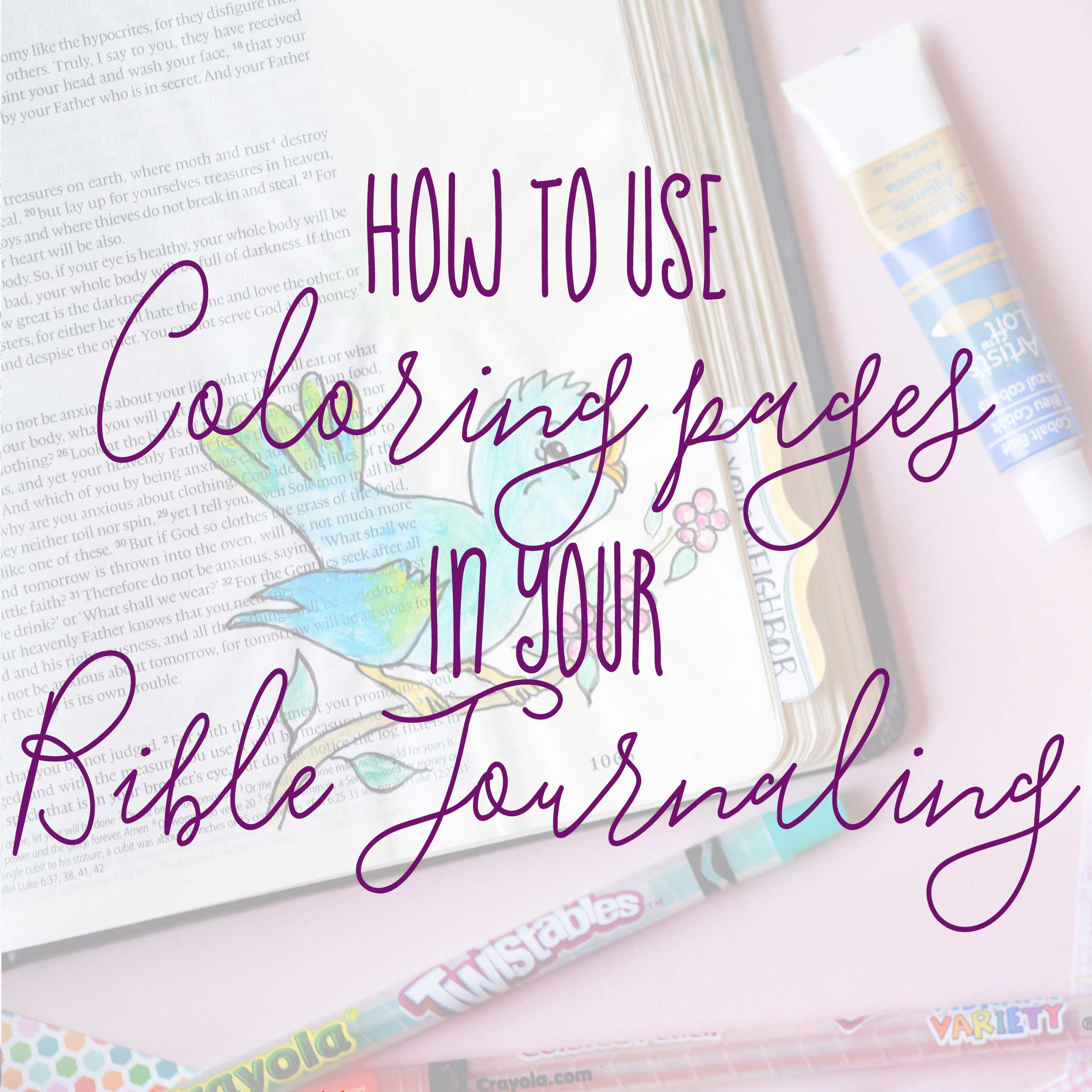 Free Bible Journaling Coloring Pages New 1 Timothy 412 Be An Example