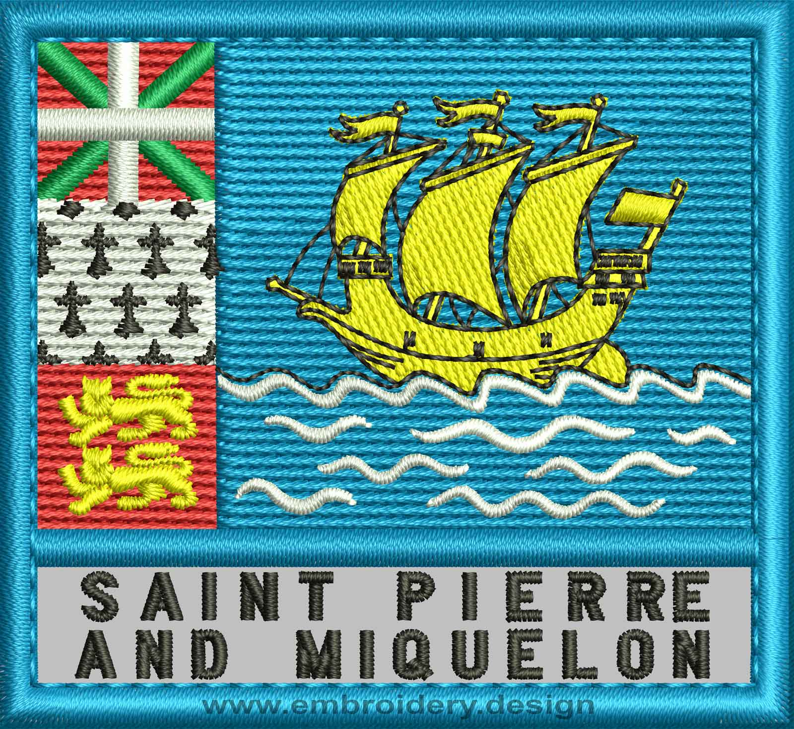 Saint Pierre And Miquelon Map Coloring Pages