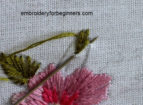 fishbone stitch