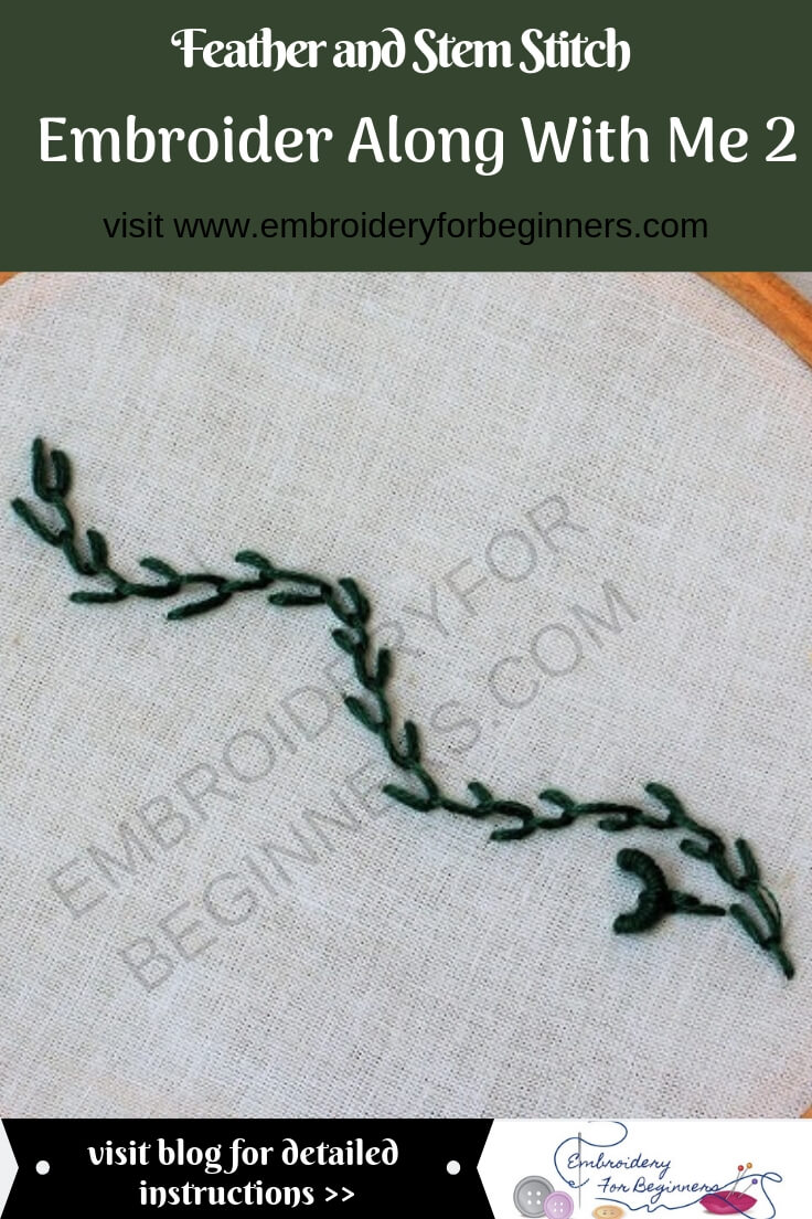 visit blog to embroider along with me 2