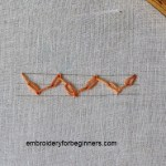 feather chain stitch