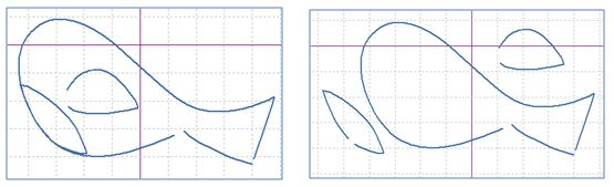 separate nested shapes