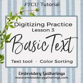Floriani FTCU Digitizing Practice Lesson 3 – text