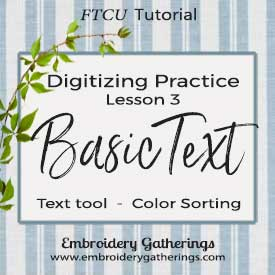 Floriani FTCU Digitizing Practice Lesson 3 – text