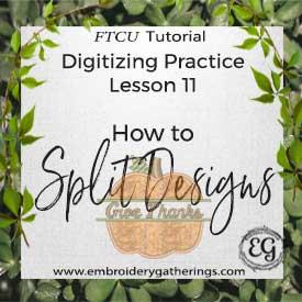 FTCU Digitizing Practice Lesson 11