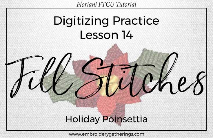 Floriani FTCU digitizing practice-lesson14-fill stitches