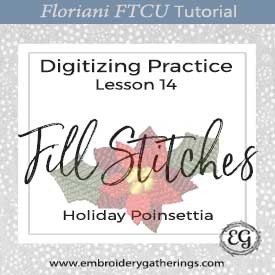 FTCU Practice Lesson 14-Holiday Poinsettia