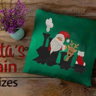 Christmas embroidery design Santa