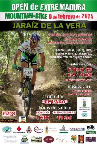 Cartel oficial de la prueba de BTT - Jaraíz de la Vera