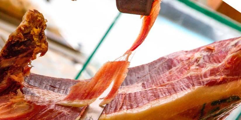 corte de jamon iberico